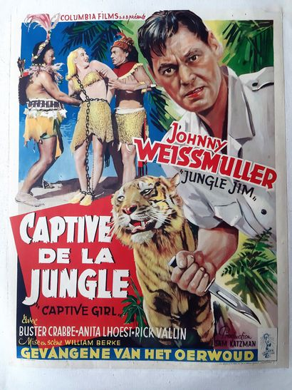 Captive de la jungle 1950 - USA /William...