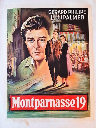 Montparnasse 19 1958 - FR /Jacques Becker...