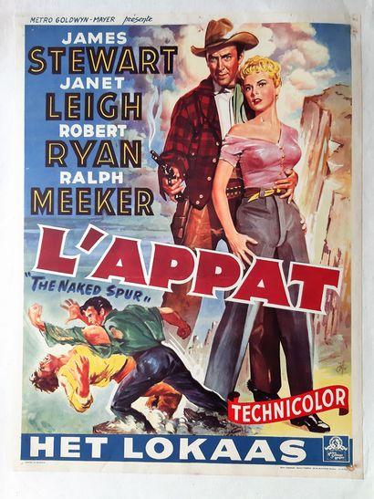 L'appat 1953 - USA /Anthony Mann James Stewart...