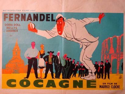 Cocagne 1961 - FR /Maurice Cloche Fernandel/Dora...