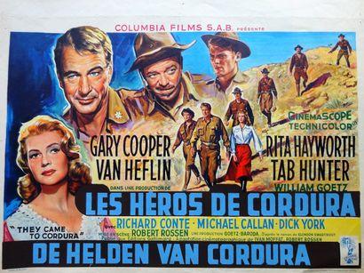 Les Héros de Cordura 1959 - USA /Robert Rossen...