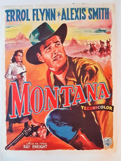 Montana 1950 - USA /Ray Enright Errol Flynn...