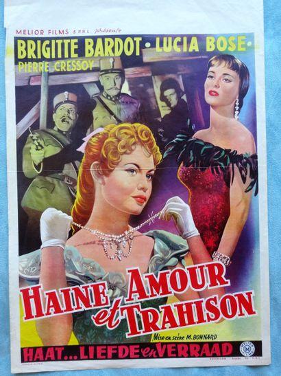 Haine, Amour et Trahison 1956 - FR /Mario...