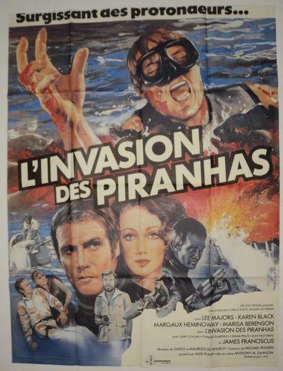 L'INVASION DES PIRANHAS 1979 - FR Alex Ponti/Antonio...