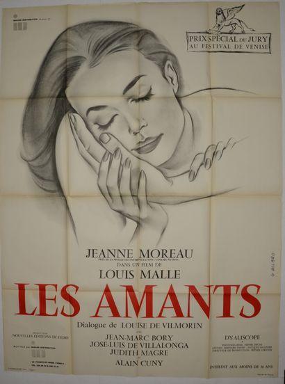 LES AMANTS 1958 - FR --/Louis Malle Jeanne...