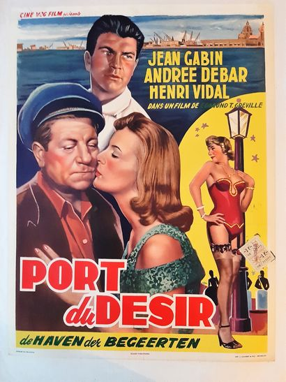 Port de Désir 1955 - FR /Edmond T.Greville...
