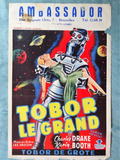 Tobor Le Grand 1954 - USA /Lee Sholem Charles...
