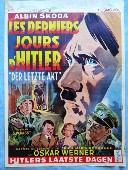 Les derniers jours d'Hitler 1955 - G /GW...