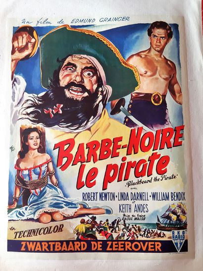 Barbe noire 1952 - USA /Raoul Walsh Robert...