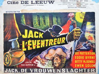 Jack L' Eventreur 1959 - UK /Robert S.Baker...