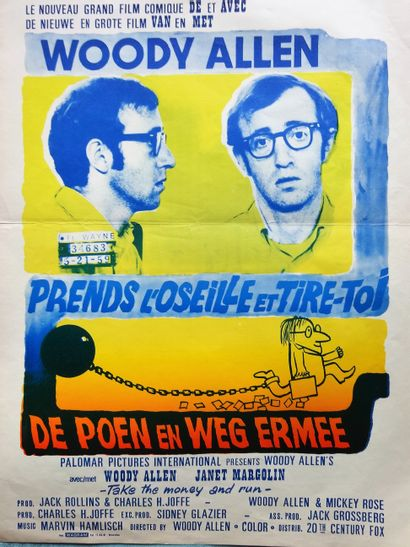 Prendsl'oseille et tire-toi 1969 - USA /Woody...