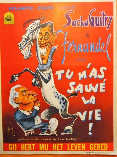 Tu m'as sauvé la vie! 1950 - FR /Sacha Guitry...