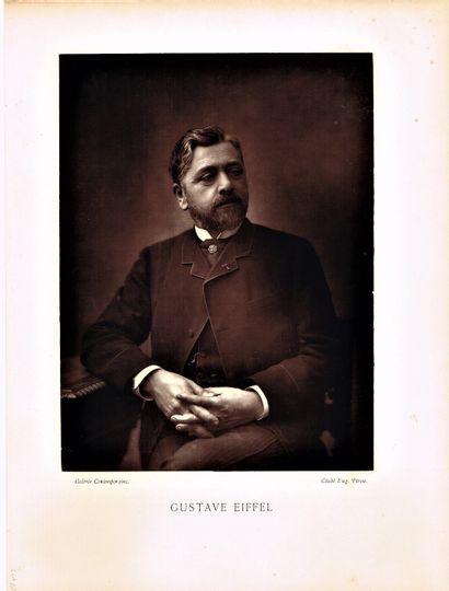 35 - Gustave EIFFEL (1832-1923), le célèbre...