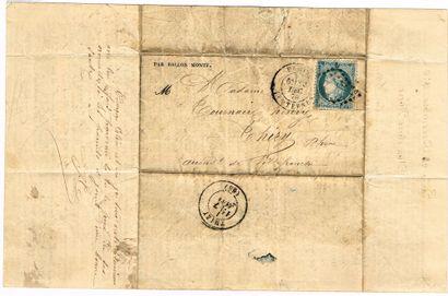 21 - BALLON MONTÉ. 30 décembre 1870; «L'Armée...