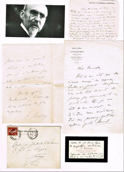 45 - NOBEL. Ferdinand BUISSON (1841-1932),...