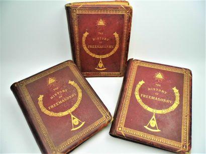 10 - FRANC-MAÇONNERIE. «History of Freemasonry»...