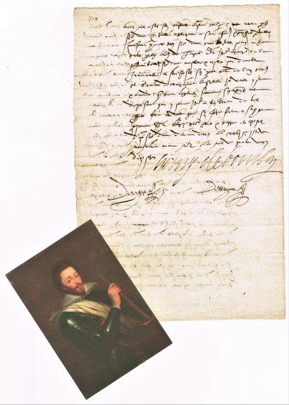 3 - Henri de BOURBON Duc de MONTPENSIER (1573-1608),...