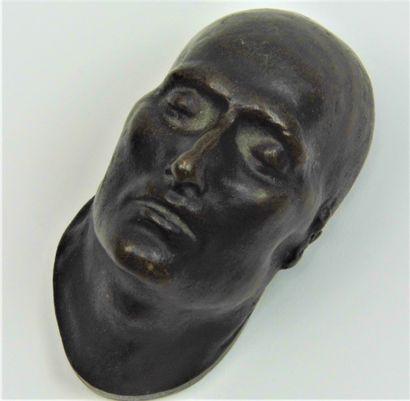 11 - [NAPOLÉON 1er ]. Masque mortuaire de...