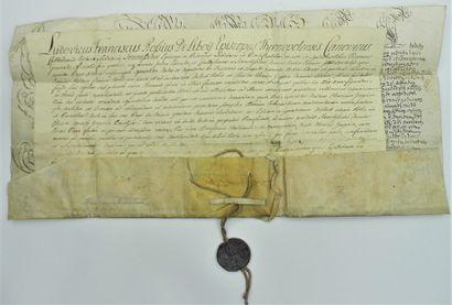 6 - PAPE INNOCENT XIII (1655-1724). Bulle...