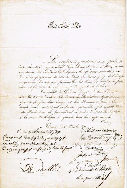 23 - PIE IX (Giovanni Mastai-Ferretti, 1792-1878),...