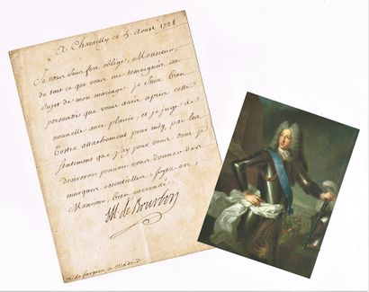 7 - Louis-Henri de BOURBON-CONDÉ petit-fils...