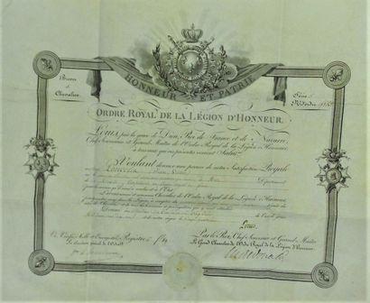 14 - Jean-Victor PONCELET (1788-1867), Général,...