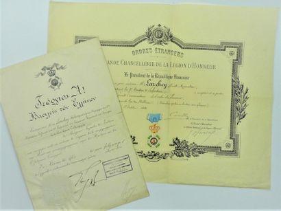 30 - GEORGES 1er ROI DE GRÈCE (1845-1913)....