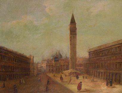 École du XIX° siècle, dans le goût de Francesco...