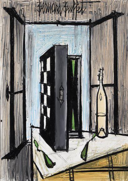 Bernard BUFFET (1928 – 1999)  « Le Jacquet...