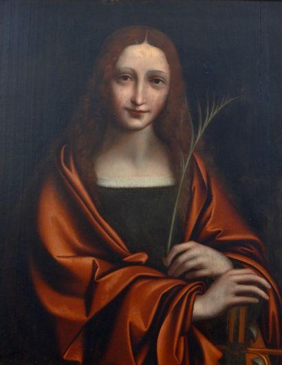 École Flamande vers 1600, suiveur de Léonard...