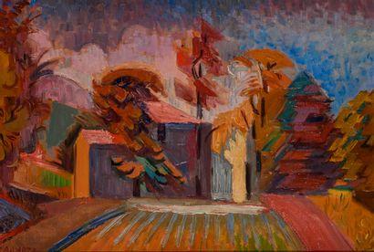 André LHOTE (1885 – 1962)  Paysage de la...