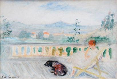 Charles CAMOIN (1879-1965)  Madame Camoin...