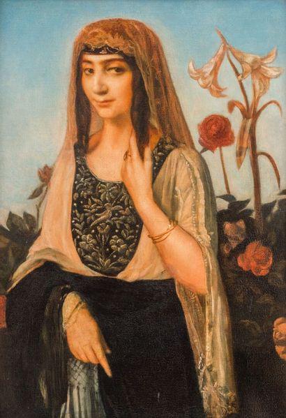 Emile BERNARD (1868-1941)  La danseuse persane...