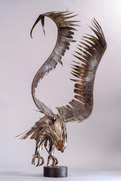 Michel JARRY (1918-1996) «L'envol de l'Aigle»...