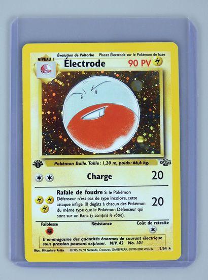 ELECTRODE Ed 1  Bloc Wizards Jungle 2/64...