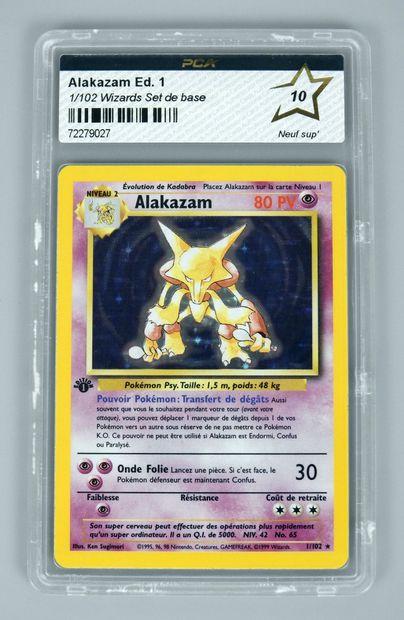 ALAKAZAM Ed 1 Bloc Wizards Set de base 1/102...
