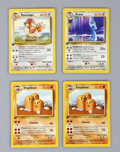 SET DE BASE  Ensemble de 4 cartes rares en...