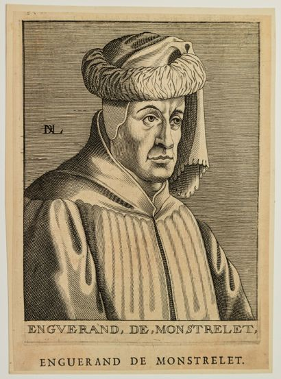 ENGUERAND DE MONSTRELET (1400-1453) Chroniqueur...