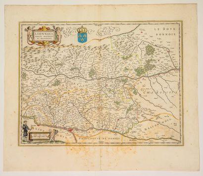 Carte XVIIIe du LYONNAIS, FOREST, BEAUJOLAIS...