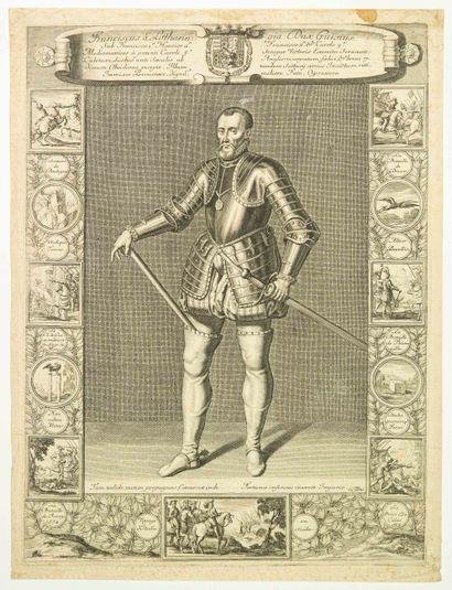 «François de LORRAINE, Duc de GUISE.»:...