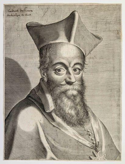 Cardinal Jacques DAVY Du PERRON, Archevêque...