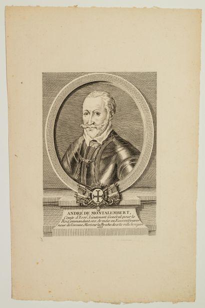 André de MONTALEMBERT, Comte d'Essé, Lieutenant...