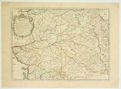 Carte de 1651: «Gouvernement général d'ORLÉANS,...