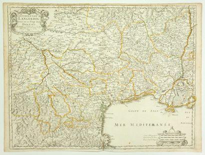 Carte de 1651: «Gouvernement général du...