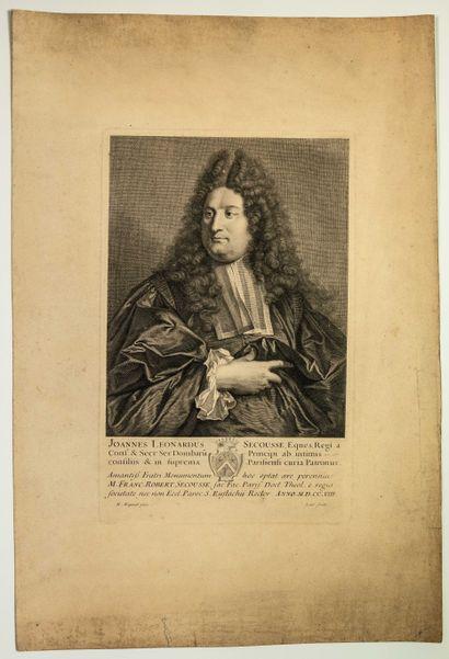 Jean Léonard SECOUSSE (1659-1711) Juriste,...