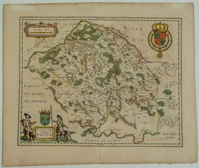 Carte XVIIe s.du Pays de VALOIS«Valesium...