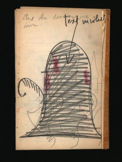 UNGERER TOMI The Three Robbers Maquette de l'ouvrage Les trois brigands en anglais...