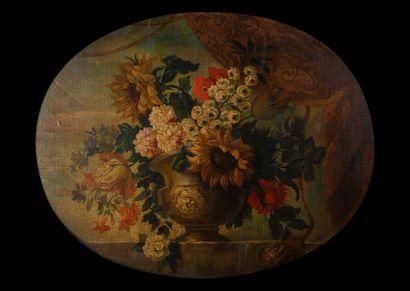 Ecole française du début du XIX° siècle  Vase...