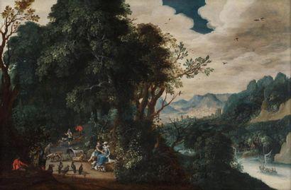 Abraham GOVAERTS, Entourage de  Chasseurs...