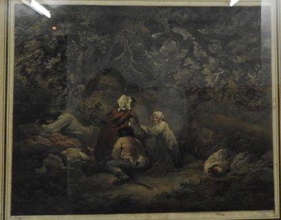 Morelan «The Woodcutter» et «Gipsies»...